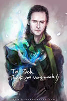 Tom! Loki by Haining-art
