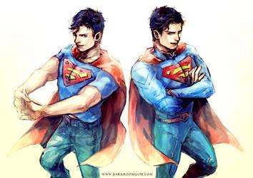 Superman by Haining-art