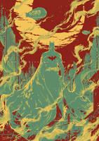 The Dark Knight by Haining-art