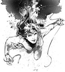 Wonder Woman by Haining-art