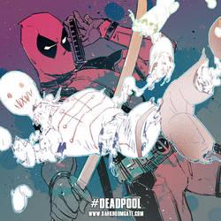 Deadpool by Haining-art