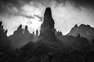 Misty Peaks by wertysachu