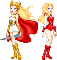 She-Ra Princess of Power by MAGICatMIDNIGHT