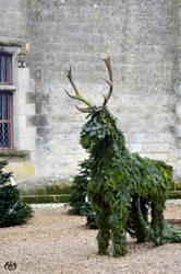 Fir-made Deer by Seleyana