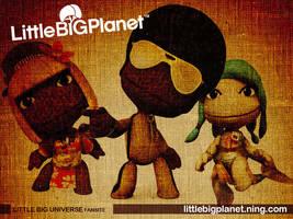 Little Big Planet Wallpaper by coolbreeze06