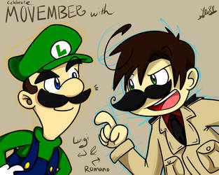 Movember and Italians by NSYee36