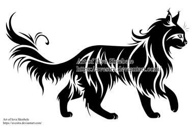 Cat Logotype by Avestra