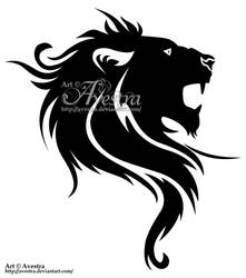 Lion Tribal by Avestra