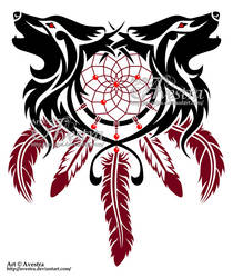 Dreamcatcher Wolves by Avestra