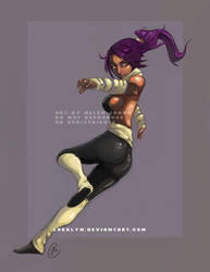 Bleach: Yoruichi by Lokklyn