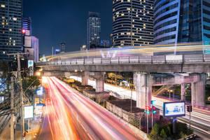 Bangkok Skytrain by TomazKlemensak