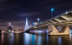 Erasmus bridge by TomazKlemensak