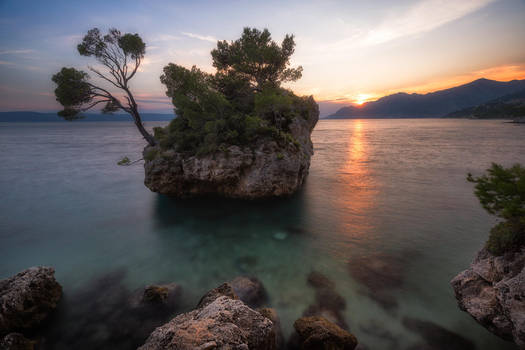 Brela Rock by TomazKlemensak