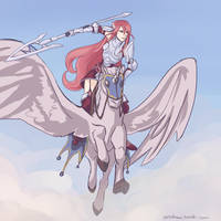Fire Emblem: Awakening - Tiamo by XyraFhoan