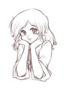 Waiting Yama sketch by littleriyu