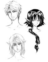 Random DnD sketch by littleriyu
