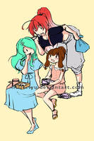 Little trio by littleriyu