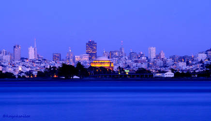 City blues by kayaksailor