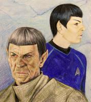 Spock by volkradugi