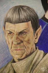 Spock Leonard Nimoy by volkradugi