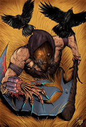 Scarecrow Attack by greenhickup