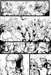 Page from a new project by greenhickup