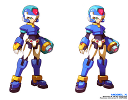 Model X - Shading Style Comparison by Tomycase