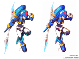 Thetis - Shading Style Comparison by Tomycase