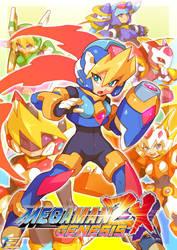 Megaman ZX Genesis - Update Art 2 by Tomycase