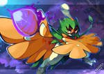 Decidueye, The Ghost Archer by Tomycase