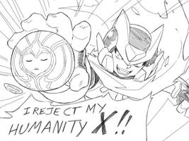 DiOmega - X's Bizarre Adventures by Tomycase