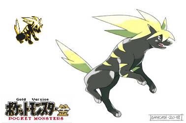 Pokemon Gold Beta - Raikou by Tomycase