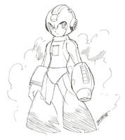 Rockman Doodle - ScreenTablet Test by Tomycase