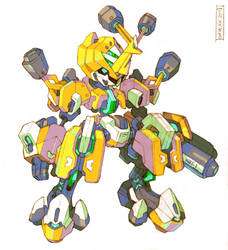 Medabot - Metabee Redesign by Tomycase