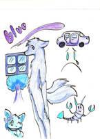 I'm blue by IkoRane