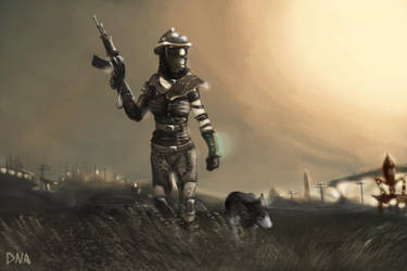 Lone Wanderer by DNA-Daenar