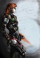 Our Commander Shepard by DNA-Daenar