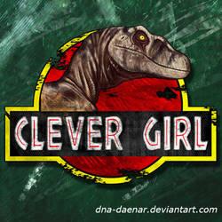 Clever Girl LOGO by DNA-Daenar