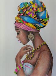 African Beauty by DaedraPrincess25
