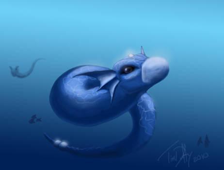 Dratini Semi Speed Paint by Duff5107