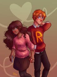 Romione For Valentines Day! by TrancyChickenThing