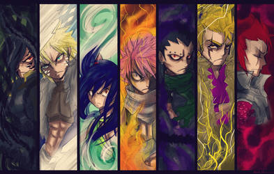 *Dragon Slayers by Stray-Ink92
