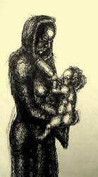 Jesus Madonna Absinth by 21stGrace