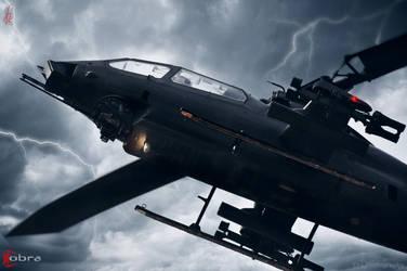 Lightning cobra by faizan47