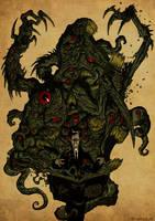 El Horror hecho carne by Jagoba