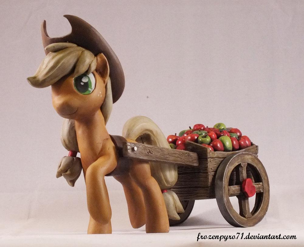 Applejack by frozenpyro71