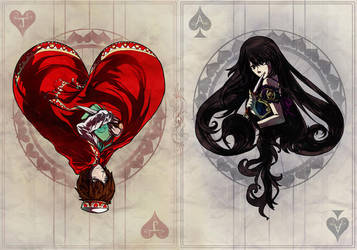 Deck of Cards by half-infinite