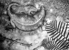 Cotylorhynchus romeri by MaximSinitsa