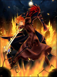 bond of flames by KL-chan