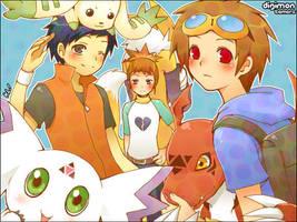 tamer gang by KL-chan